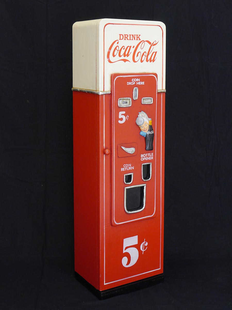 cd schrank cd regal coca cola automat retro stil 3177 ebay. Black Bedroom Furniture Sets. Home Design Ideas