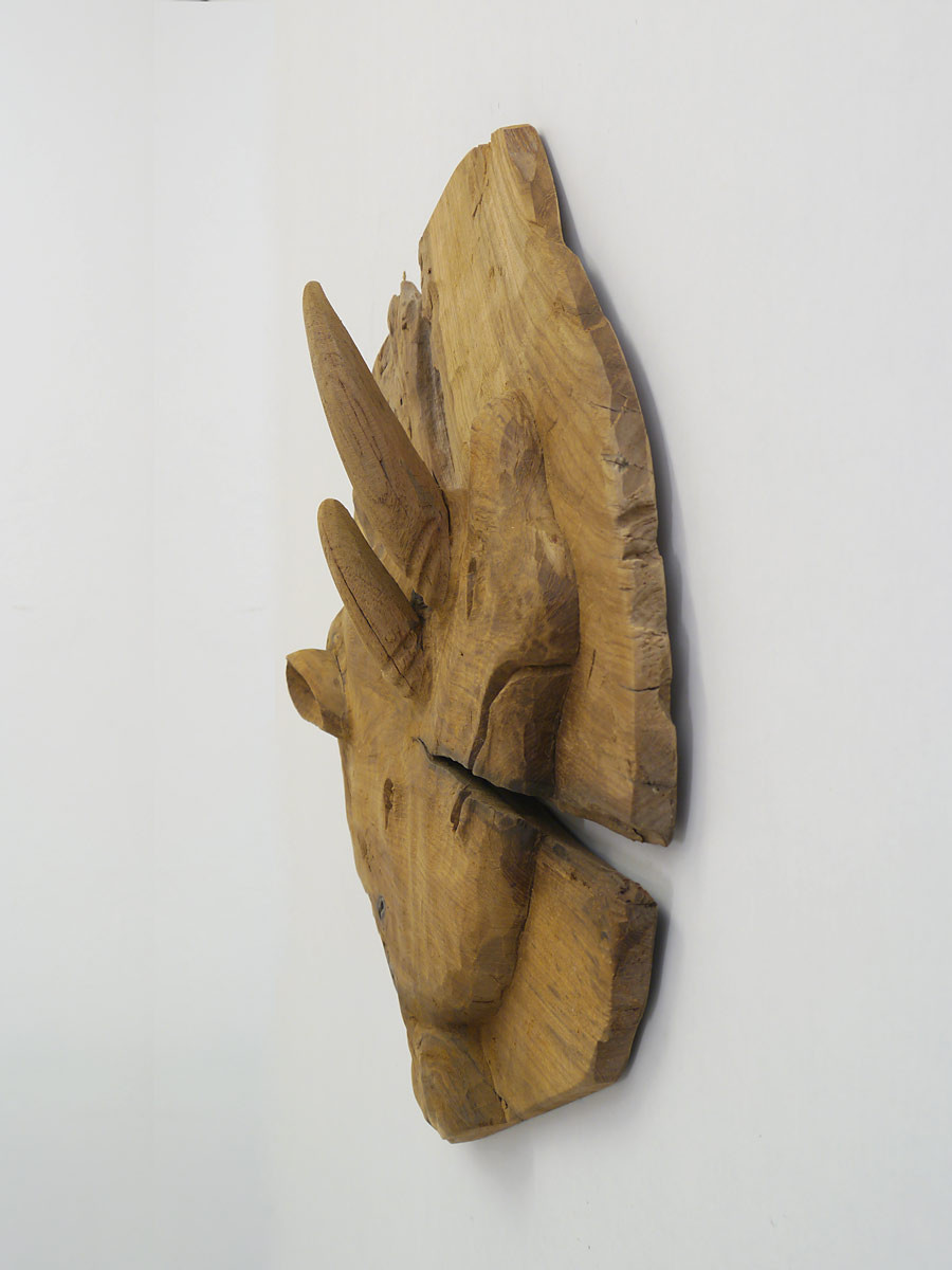Holzbild Relief