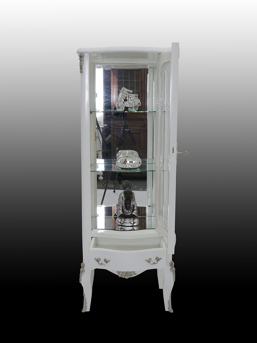 vitrine vitrinenschrank glasvitrine glasschrank im barock. Black Bedroom Furniture Sets. Home Design Ideas