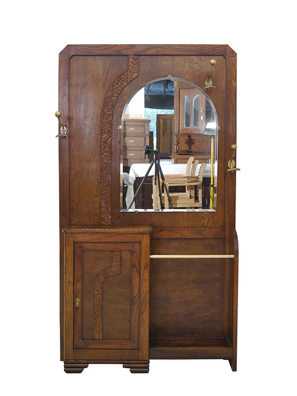 garderobe wandgarderobe flurgarderobe art deco um 1930. Black Bedroom Furniture Sets. Home Design Ideas