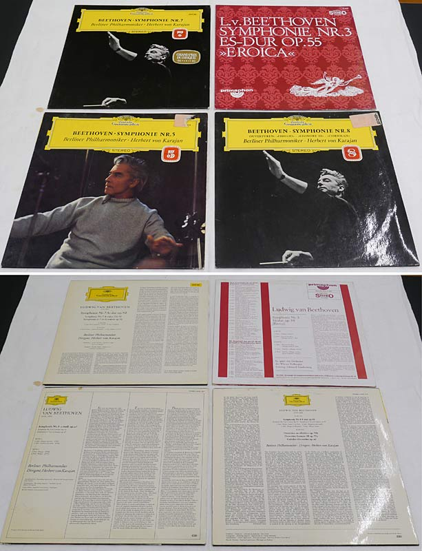 4 LPs Beethoven