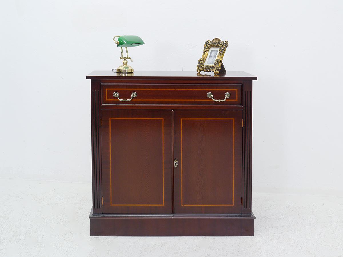 anrichte kommode sideboard mahagoni englischer stil 1085 ebay. Black Bedroom Furniture Sets. Home Design Ideas