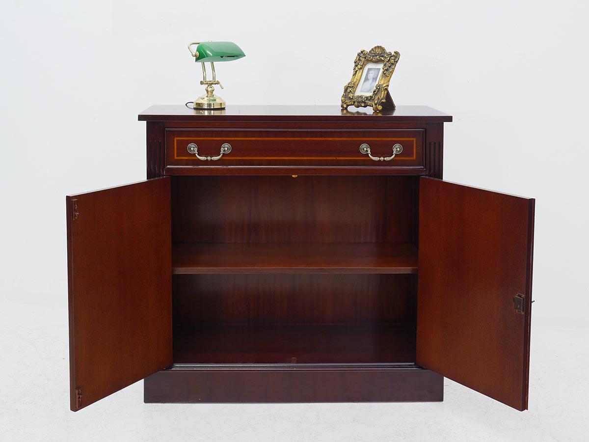 anrichte kommode sideboard mahagoni englischer stil 1085 4260433241746 ebay. Black Bedroom Furniture Sets. Home Design Ideas