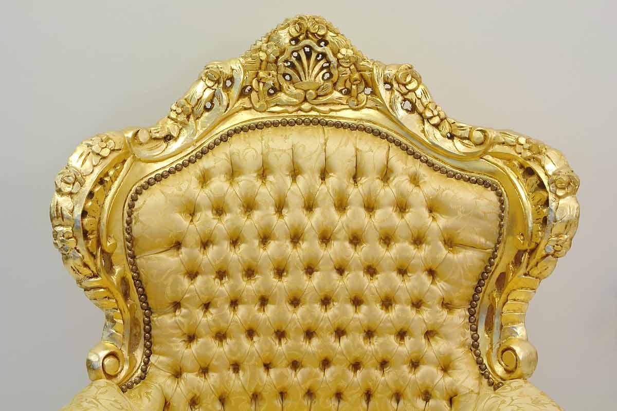 sessel barock gold williamflooring. Black Bedroom Furniture Sets. Home Design Ideas