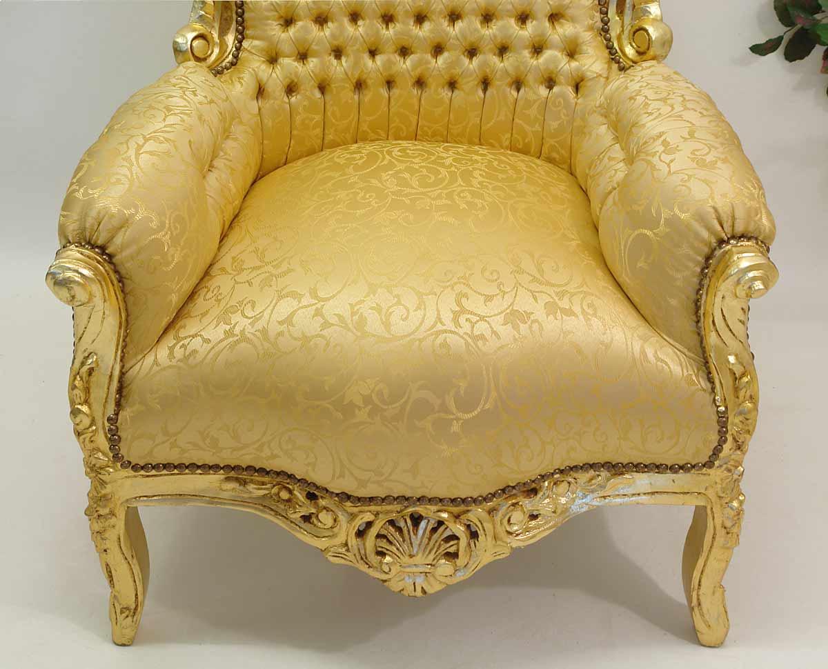 sessel stuhl armlehnsessel massivholz antik barock stil 1095 m bel sitzm bel sofas und sessel. Black Bedroom Furniture Sets. Home Design Ideas