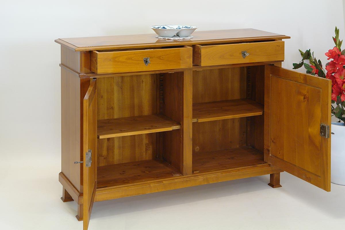 anrichte kommode sideboard schrank kirschbaum in biedermeier stil 1190 kommoden und anrichten. Black Bedroom Furniture Sets. Home Design Ideas