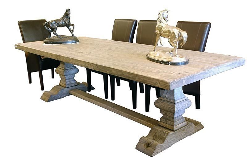 esstisch tisch gesindetisch klostertisch 220 cm altes pappelholz wie antik 1696 tische esstische. Black Bedroom Furniture Sets. Home Design Ideas