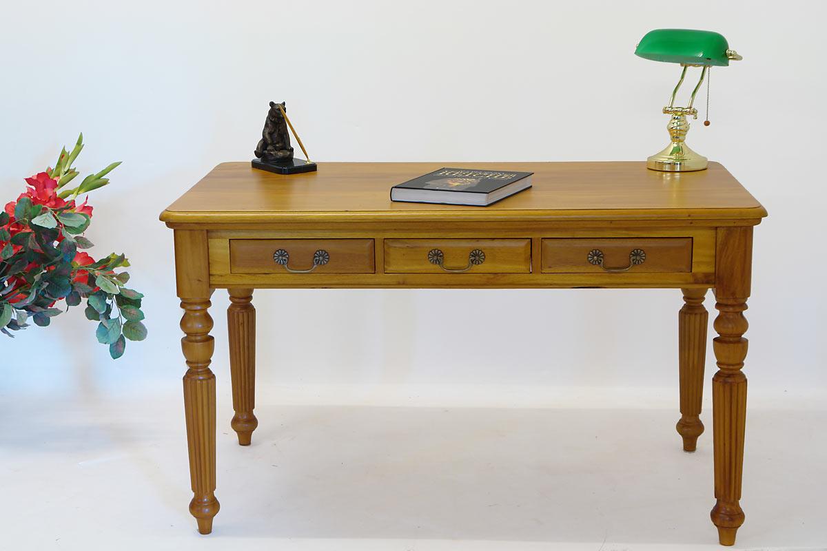 schreibtisch b rotisch esstisch massivholz kirschbaumfarbton antik stil 1756 m bel. Black Bedroom Furniture Sets. Home Design Ideas