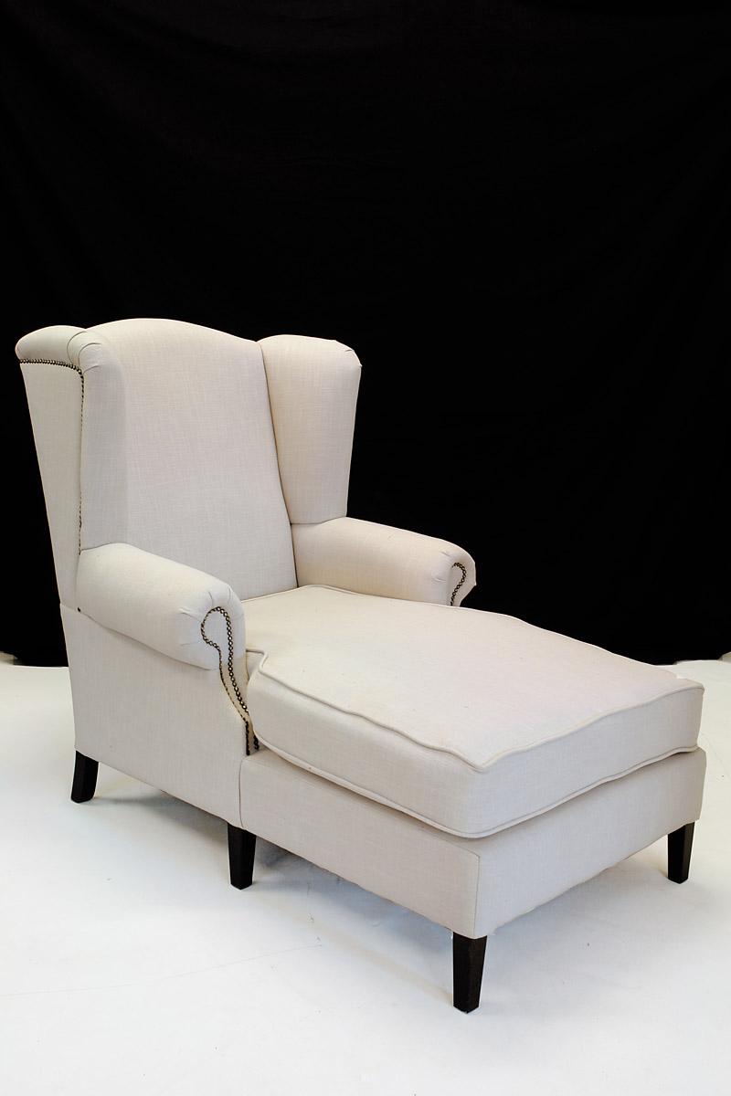 Liegesessel ohrensessel sessel mit textilbezug im modernen for Liegesessel xxl