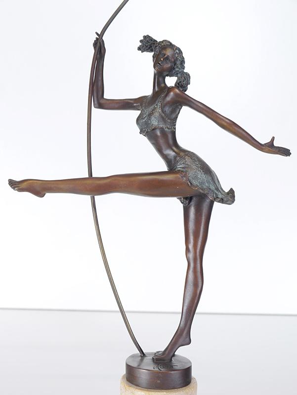 Nahaufnahme von der Ballerina