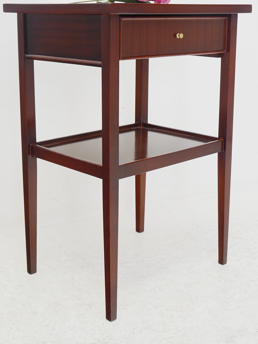 beistelltisch tisch telefontisch im antiken stil mahagoni mit intarsien 2103 m bel kommoden. Black Bedroom Furniture Sets. Home Design Ideas