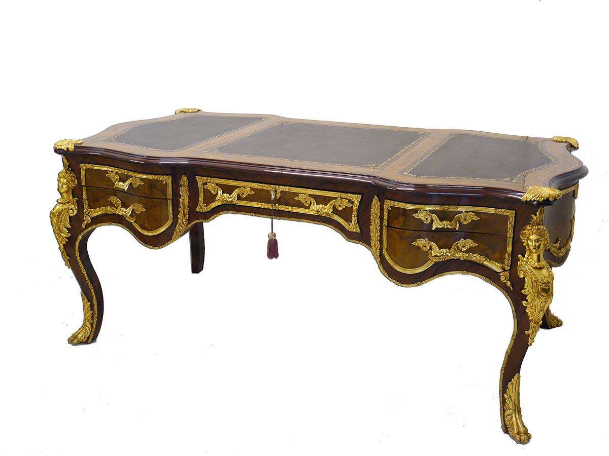 Schreibtisch im brocken Stil