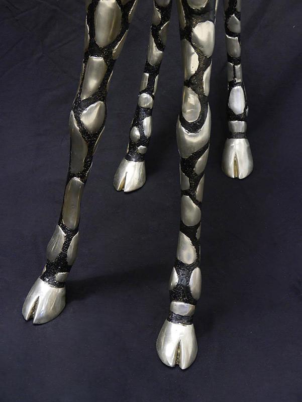 Detailansicht der Beine