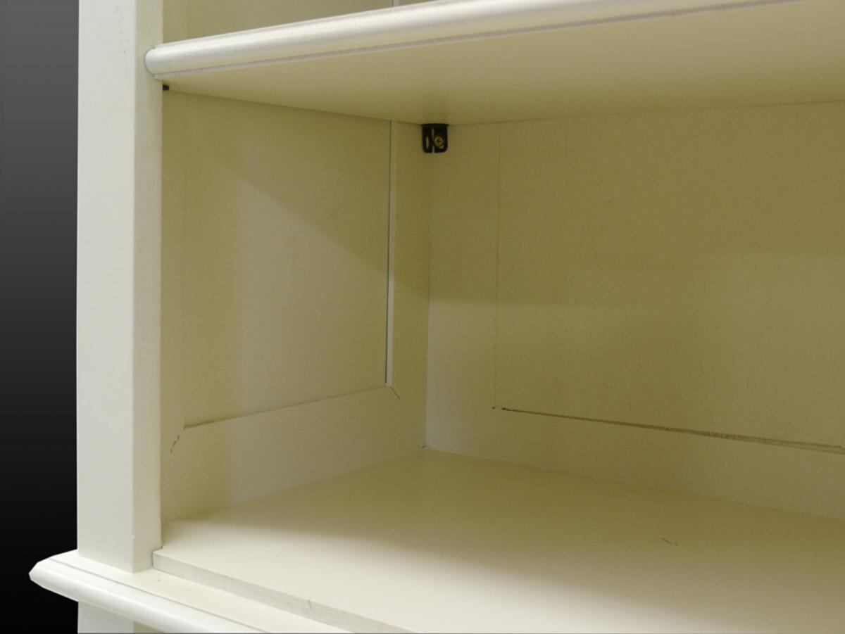 Bücherschrank Nahaufnahme von dem Regal
