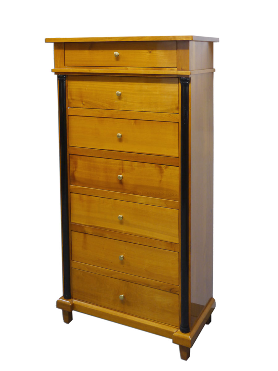 kommode anrichte schrank biedermeier stil kirschbaum hochgl nzend 2398 m bel kommoden und. Black Bedroom Furniture Sets. Home Design Ideas