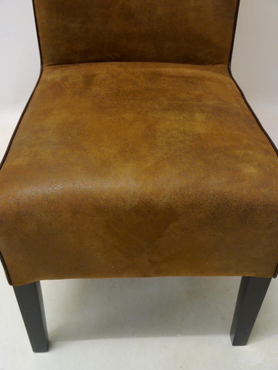 Sitzfläche von dem Polsterstuhl