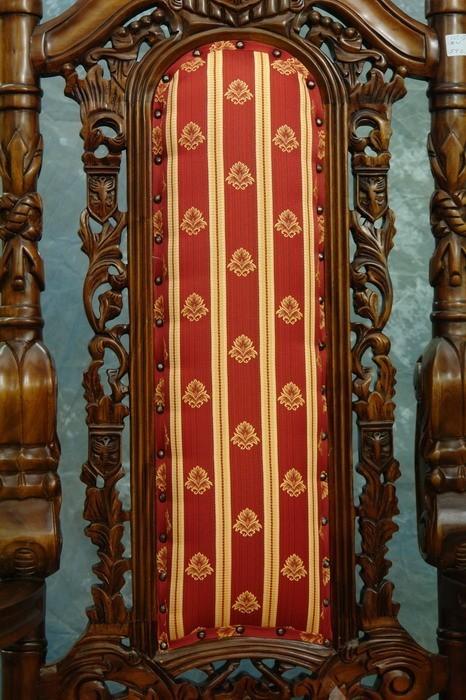 Stuhl-Rückenlehne Detailansicht