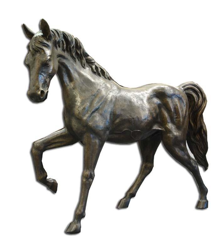 Bronze Pferd fast 70 cm hoch
