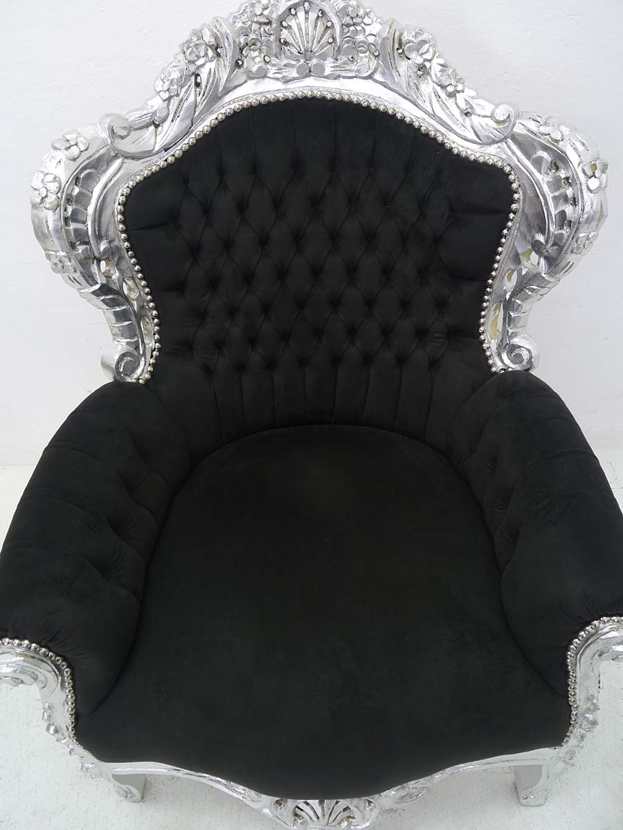 Draufsicht auf den Sessel