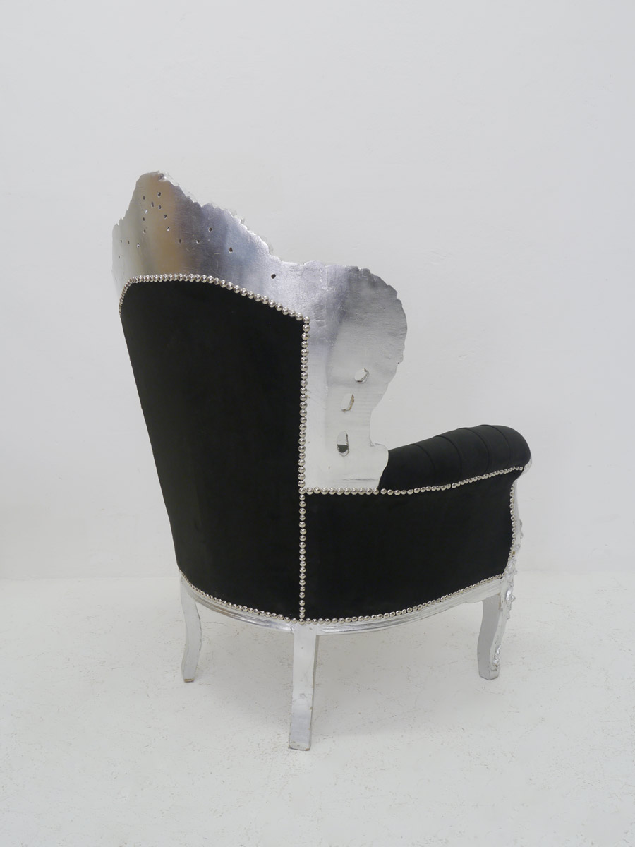 Rückseite von dem Sessel