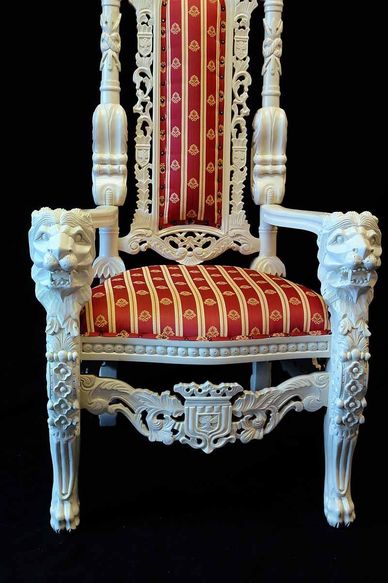 Detailansicht vom Stuhl
