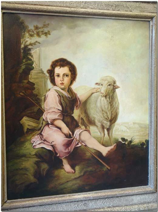 Gemälde Nahaufnahme