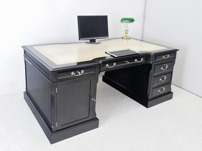 Doppelseitiger Schreibtisch im Reproantiken Stil