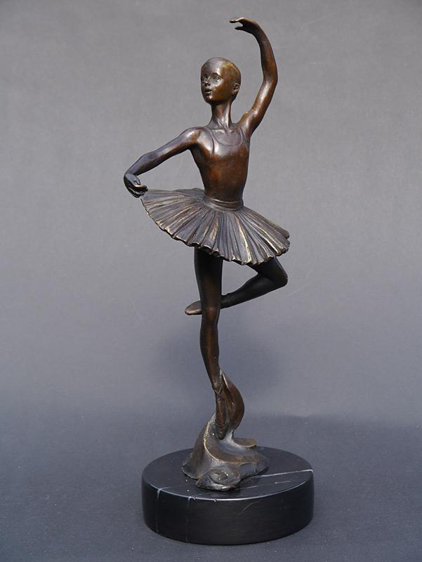 Dekorative Figur einer Ballerina