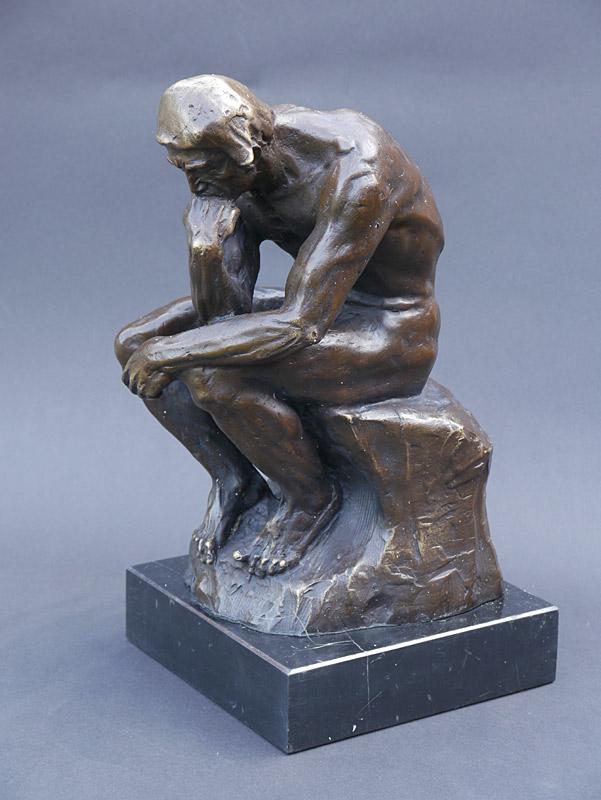 Wunderschöne Figur der Denker nach Auguste Rodin
