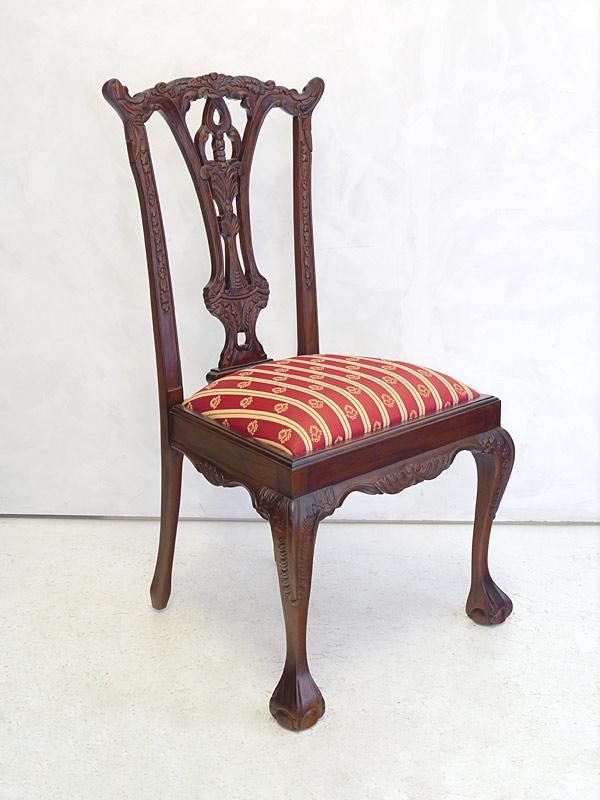 stuhl lehnstuhl sitzm bel im antiken stil massivholz mit polsterung 2608 m bel sitzm bel st hle. Black Bedroom Furniture Sets. Home Design Ideas