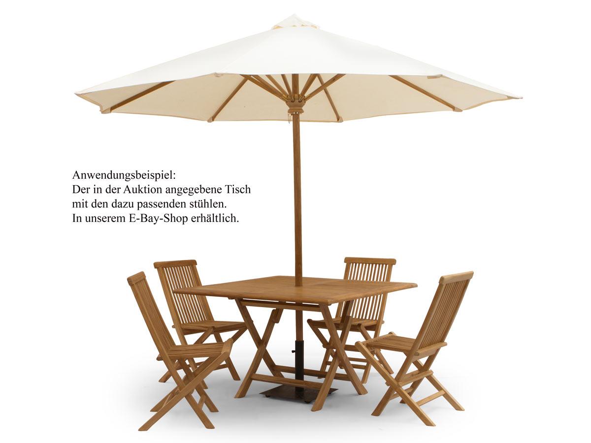 Der Sonnenschirm ist im Angebot inbegriffen