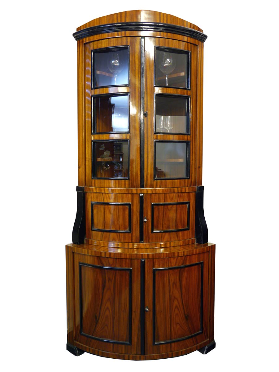 eckvitrine eckschrank t nnchen im biedermeier stil aus palisander 2765 m bel schr nke eckschr nke. Black Bedroom Furniture Sets. Home Design Ideas