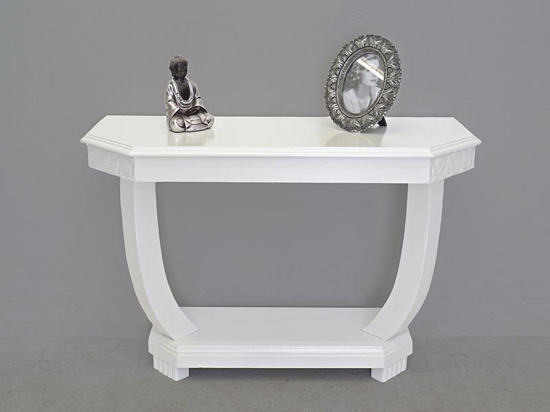 Wandtisch in Shabby Chic weiß