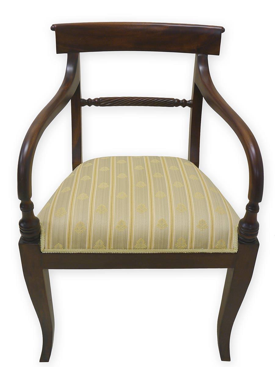 armlehnstuhl besucherstuhl esszimmerstuhl massivholz im englischen stil 2928 m bel sitzm bel. Black Bedroom Furniture Sets. Home Design Ideas