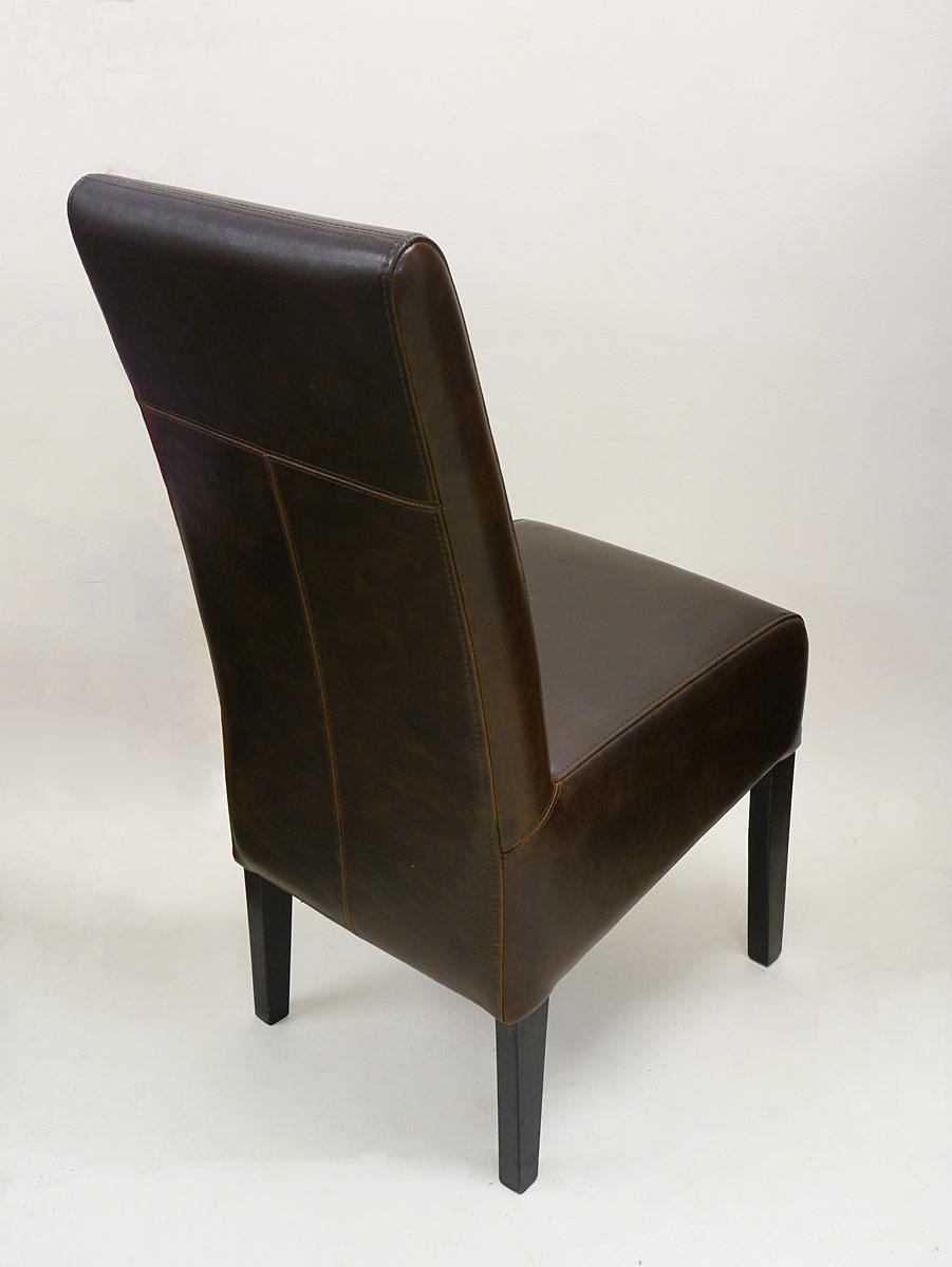 stuhl lehnstuhl sitzm bel mit braunem leder im zeitlosen design 2931 m bel sitzm bel st hle. Black Bedroom Furniture Sets. Home Design Ideas