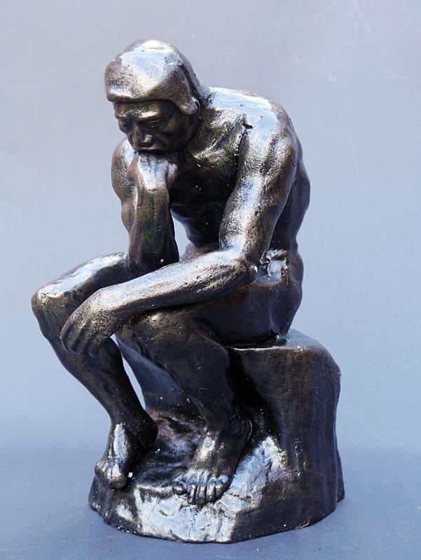 Dekorative Figur der Denker