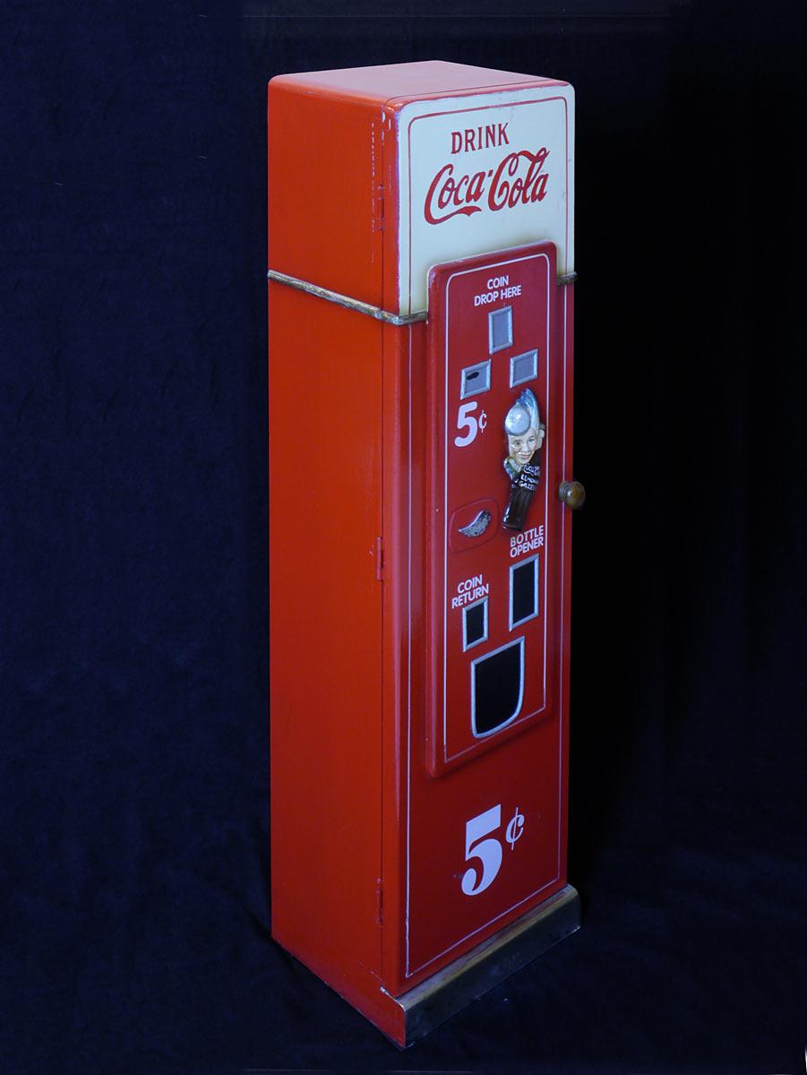 cd schrank cd regal coca cola automat retro stil 2989 dekoration und sonstiges. Black Bedroom Furniture Sets. Home Design Ideas