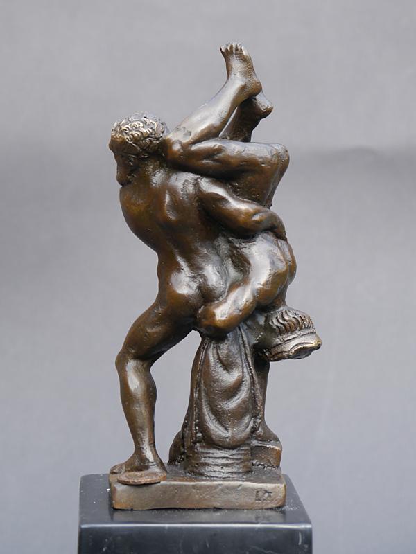 Ausdrucksstarke und dekorative Bronzeskulptur