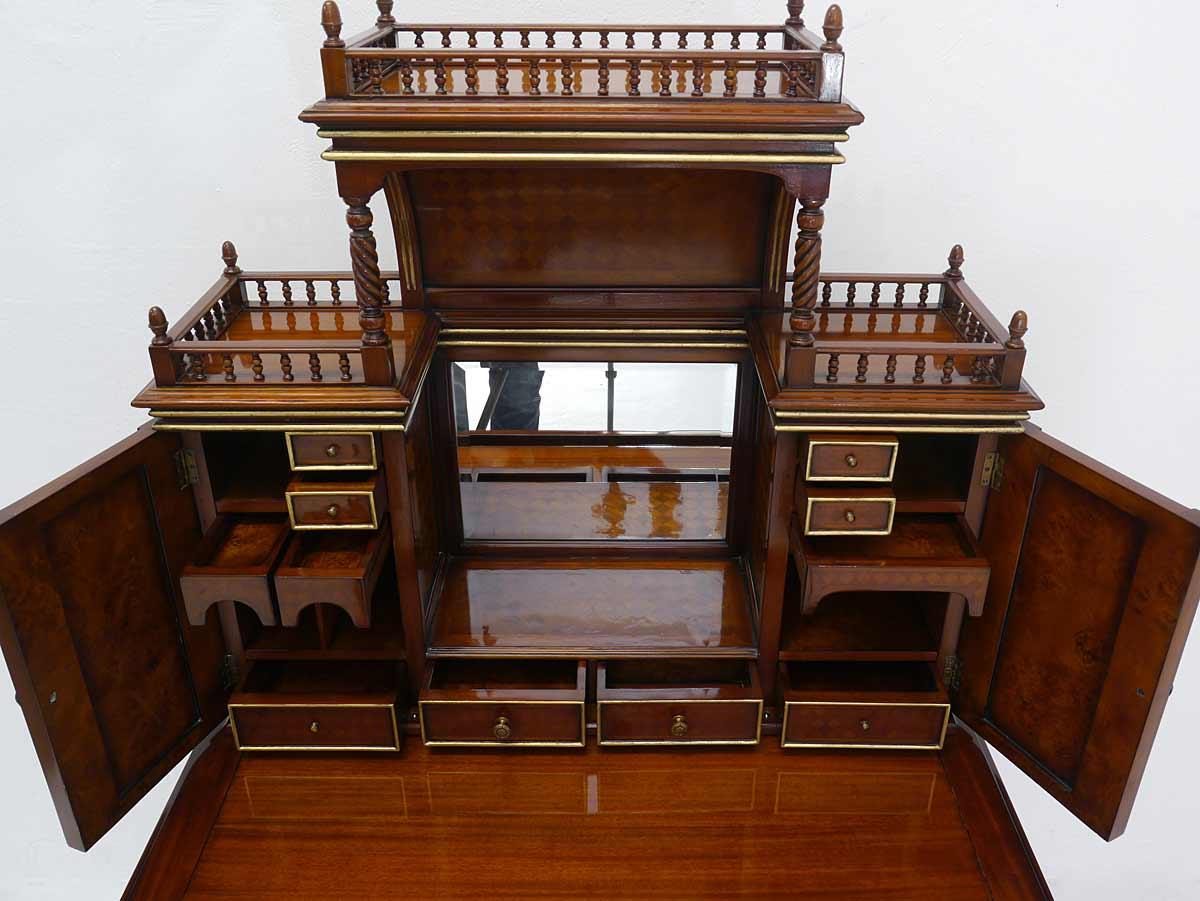 sekret r schreibsekret r damensekret r englischer stil mit geheimfach 3088 m bel schreibm bel. Black Bedroom Furniture Sets. Home Design Ideas