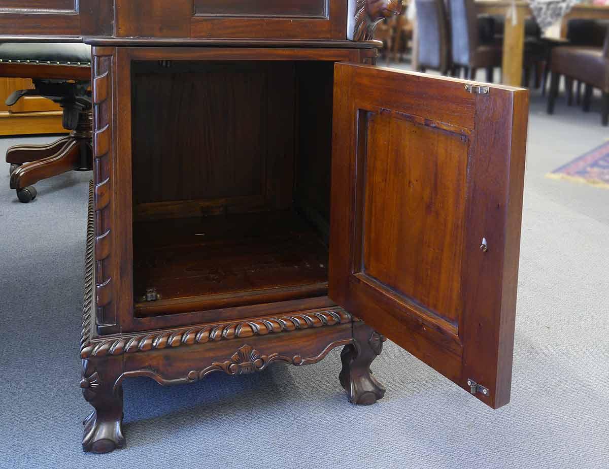 Schreibtisch Eckschreibtisch Büromöbel Partnerdesk Antik Stil (3106 ...