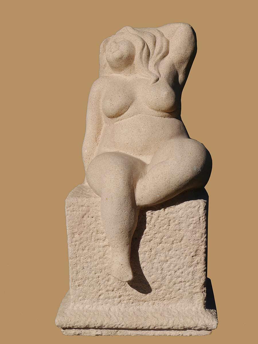 Dekorative Akt Figur einer Rubensfrau