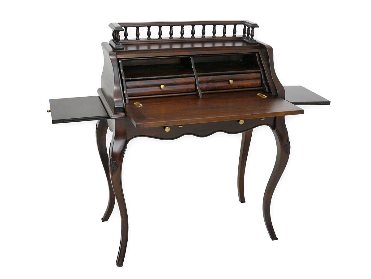 Schreibtisch mit seitlicher Ablagefläche