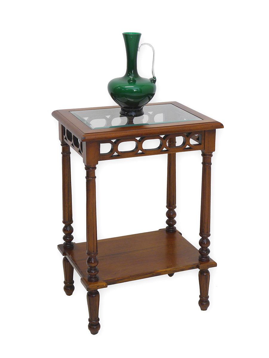 Beistelltisch telefontisch tisch im antiken stil mit for Beistelltisch telefon