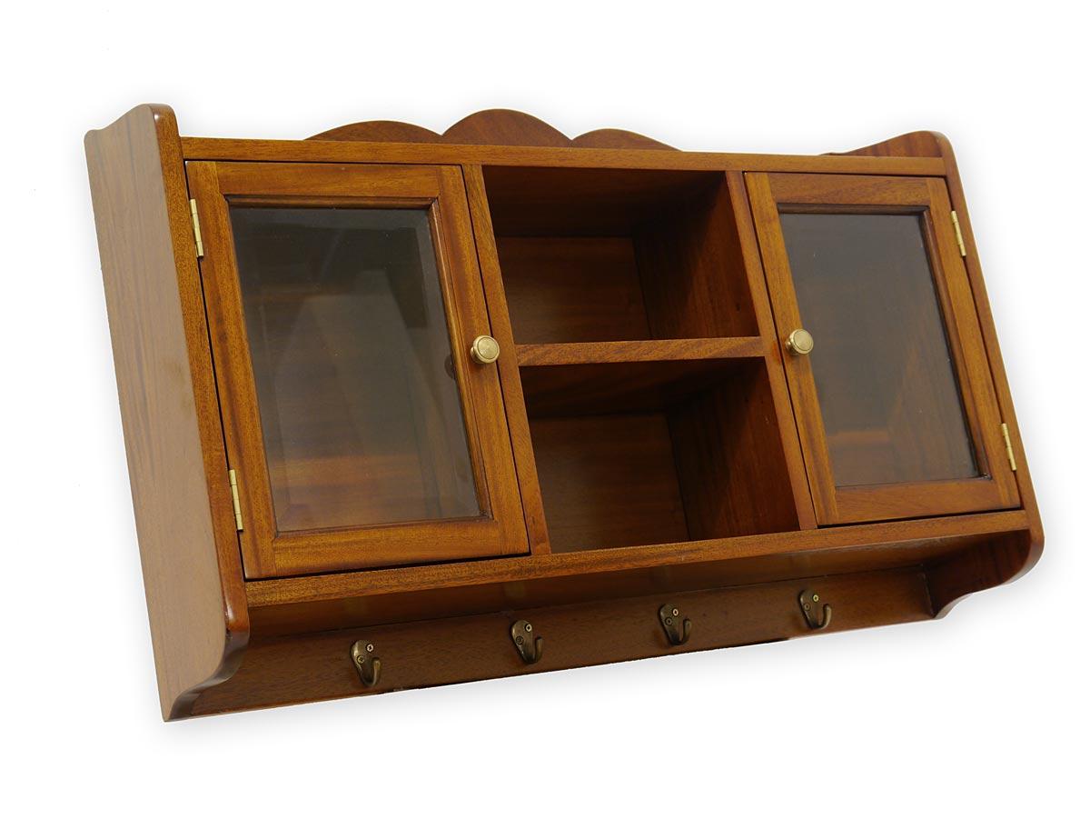 h ngeschrank wandgarderobe handtuchhalter antik stil massiv in nussbaum 3374 dekoration und. Black Bedroom Furniture Sets. Home Design Ideas