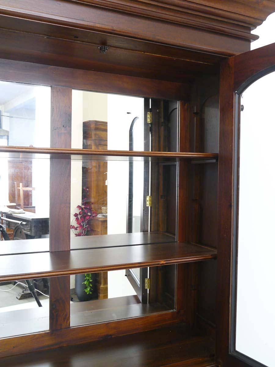 vitrine schrank b cherschrank buffet mahagoni im englischen stil 3774 m bel schr nke. Black Bedroom Furniture Sets. Home Design Ideas