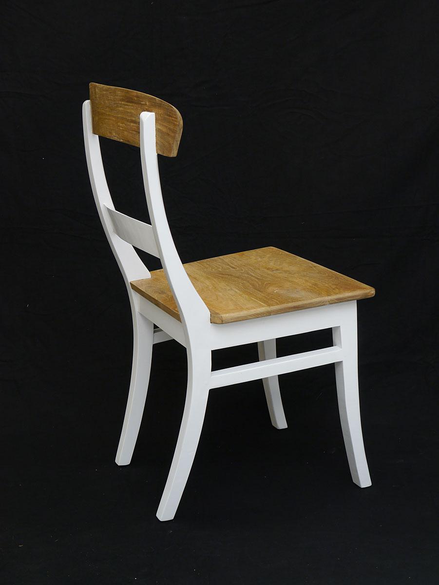 stuhl sitzm bel lehnstuhl aus teakholz in wei und natur 3838 m bel sitzm bel st hle. Black Bedroom Furniture Sets. Home Design Ideas