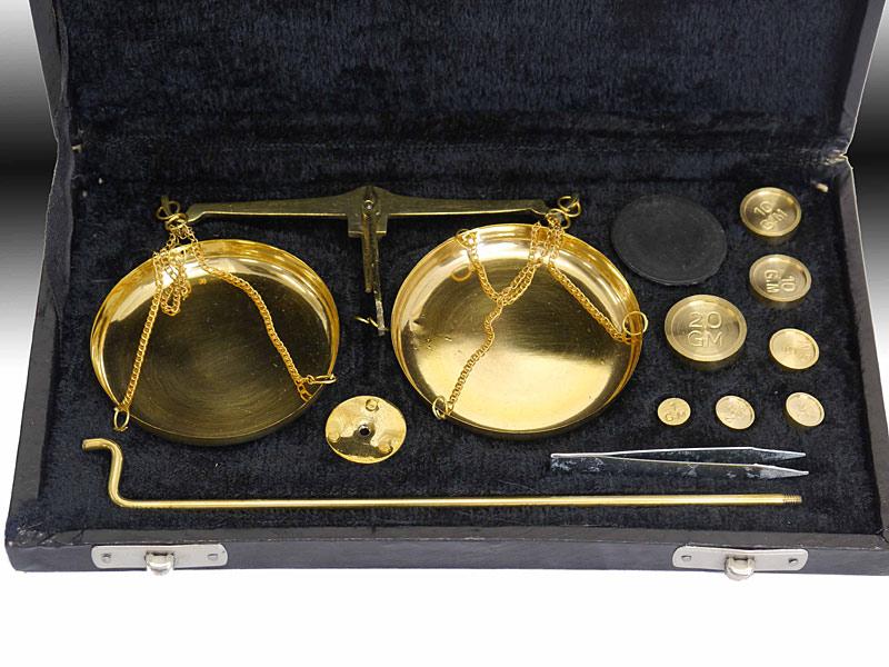 Goldewaage Detailansicht