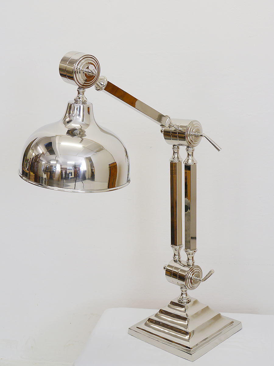 tischlampe stehlampe industrielampe bauhausstil aus. Black Bedroom Furniture Sets. Home Design Ideas