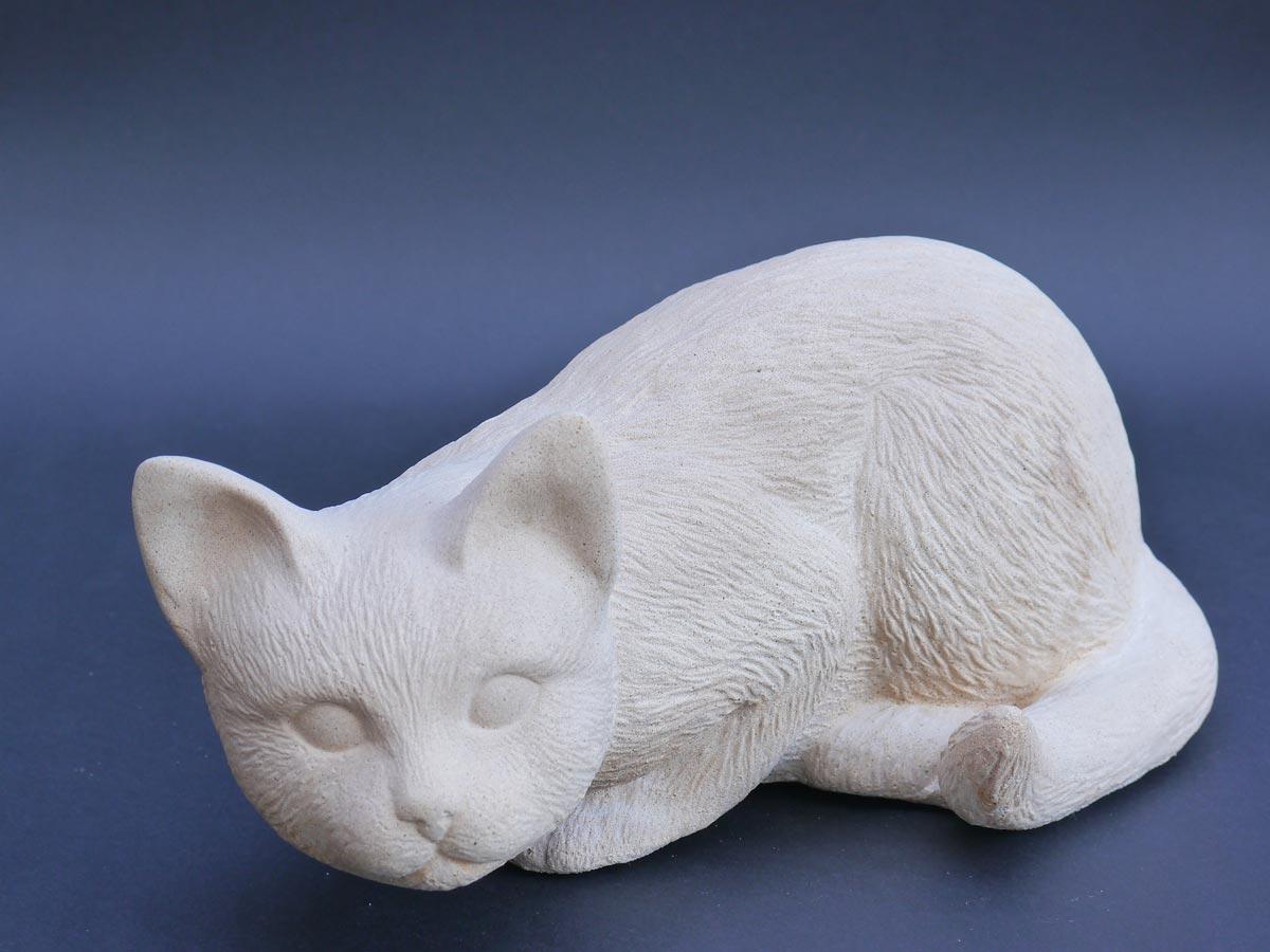 Dekorative Figur der Katze Tinka