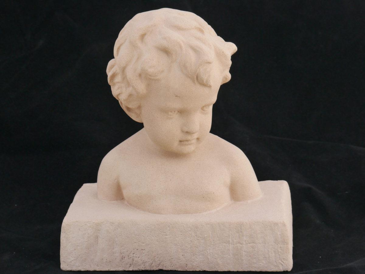 Dekorative Figur Büste kleiner Junge